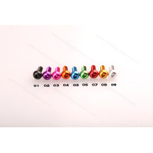 Aliexpress Hexagonal Color Anodized Button Aluminum Screws